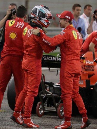 """Leclerc logra su primera """"pole"""""""