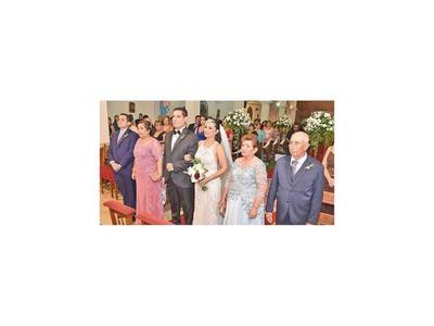 El enlace matrimonial de Yolanda y Esteban