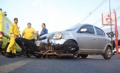 Paraguay es uno de los países con mayor cantidad de muertes por accidentes en moto