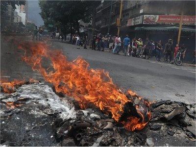 Se encienden las protestas por el apagón en Venezuela