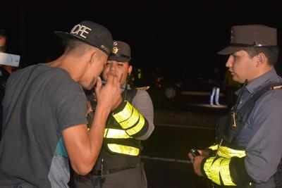La Patrulla Caminera sacó de las rutas a 405 alcoholizados en la semana
