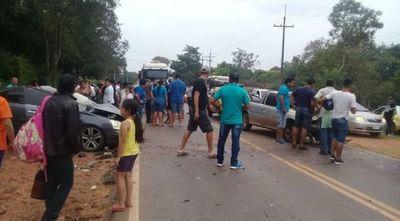 Accidente dejó dos fallecidos en Itauguá