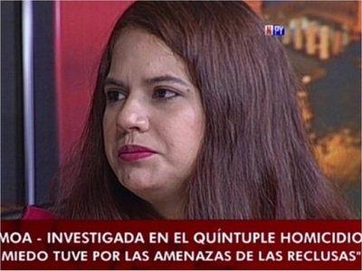 Alba Armoa confirmó que Marabel tenía una actitud sospechosa