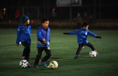 China lanza las escuelas de preescolar especializadas en el fútbol