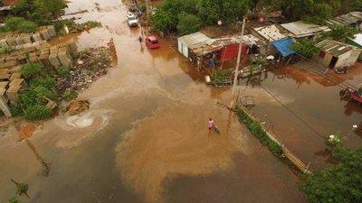 Ya suman 70.000 los afectados por la crecida del río Paraguay