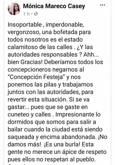 """""""Ciudadana hastiada"""" exterioriza su impotencia en redes sociales"""