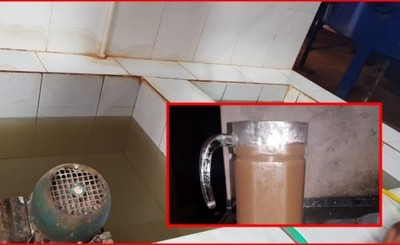 Aguatera Mers clausurado por distribuir barro en vez de agua