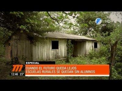La localidad sin niños en Guairá