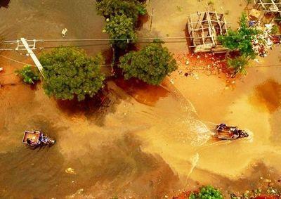 Río Paraguay subió 6 metros y se vienen días difíciles