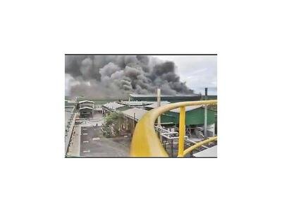Incendio en Cooperativa Chortitzer causa  pérdidas por USD 25 millones