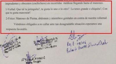 Denuncian acoso a médicos