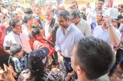 Jefe de Estado visita al Departamento de Paraguarí