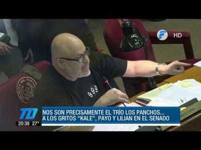 """Piden sanción para """"Payo"""" tras nuevo show en el Senado"""