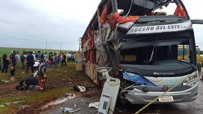 Imputan a conductor de bus que provocó fatal accidente