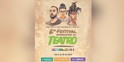 SE VIENE EL FESTIVAL INTERNACIONAL DE TEATRO