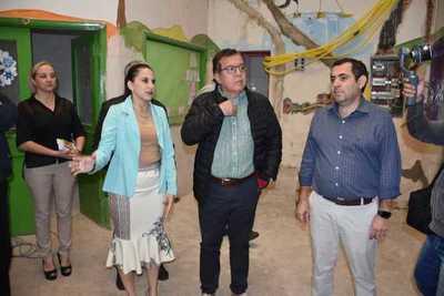 Avanza refacción del Hospital Regional de Encarnación con inversiones de la EBY