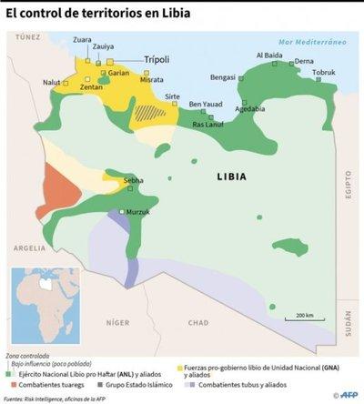 La ONU teme confrontación militar en una Libia dividida