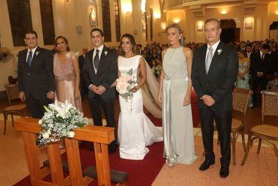 Karina y Benito se casaron
