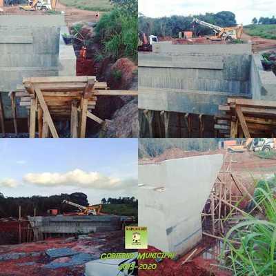 Avanzan construcciones de puentes en distrito de Itakyry