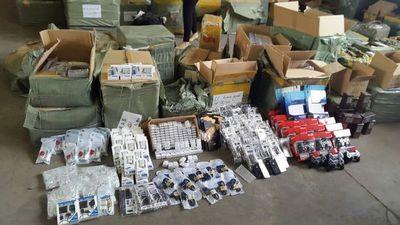 En 6 meses incautaron mercaderías falsificadas por USD 6 millones