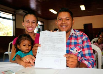 Gobierno entregarácontratos de compra venta de inmuebles a familias de Central