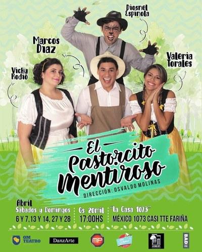 """""""El Pastorcito Mentiroso"""" ofrecerá cinco funciones más este abril"""