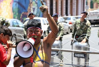 Buscan solución integral y no de momento para indígenas