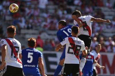 Robert Rojas anotó su primer gol con River Plate
