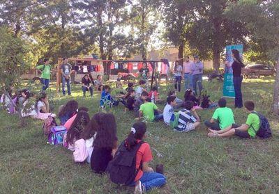 Charlas sobre educación ambiental en San Lorenzo