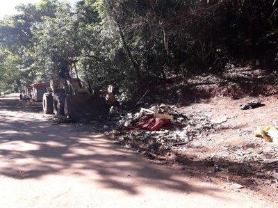Denuncian reubicación en cerro Lambaré y comuna desmiente