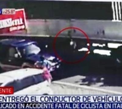 Se entregó conductor de camioneta implicado en fatal accidente
