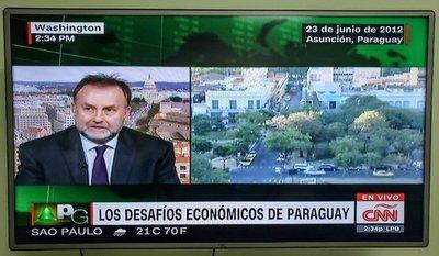 Paraguay continuará creciendo con políticas públicas responsables, señaló ministro