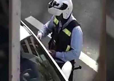 Policía de tránsito fue sumariado por coimear