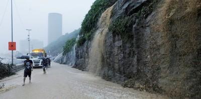 Temporal, inundaciones y al menos tres muertos en Río de Janeiro