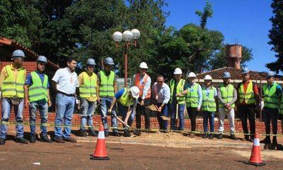 Itaipú inicia obras de revitalización del Hospital Regional de Ciudad del Este