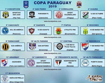 Continúan los preparativos para la Copa Paraguay