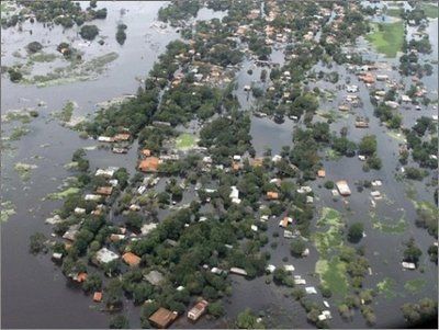Crecida del pantanal de Brasil principal causante de suba del Río Paraguay
