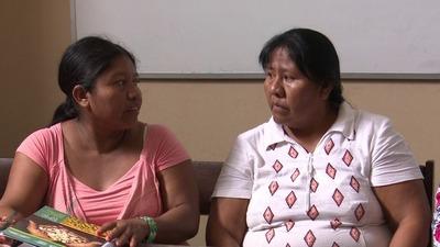 Mujeres indígenas piden ayuda humanitaria al gobierno