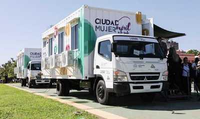 Ciudad Mujer Móvil brinda atención hoy en Guairá