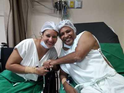 Hermanos protagonizan el trasplante renal número 113 del Hospital de Clínicas