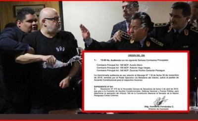 Pedirán suspensión para Payo Cubas
