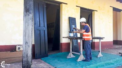 Avanzan obras de restauración y puesta en valor del Campamento Cerro León