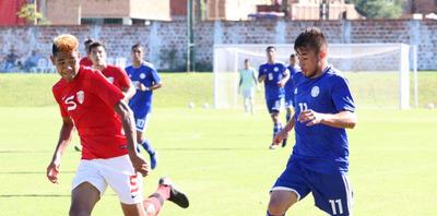Sparring albirrojo venció por goleada a Sub 20 de Tahití