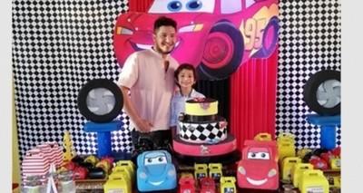 Así Dahiana Y Junior Celebraron El Cumpleaños De Su Hijo Nachito