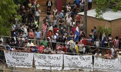 Adherentes de Payo anuncian escraches – Prensa 5