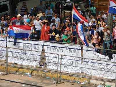 Llaman a manifestación por suspensión de Payo Cubas