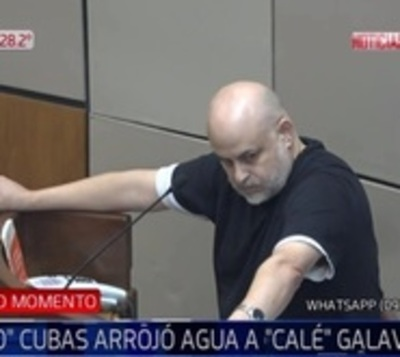 Antes de ser suspendido, Paraguayo Cubas se descargó contra todos