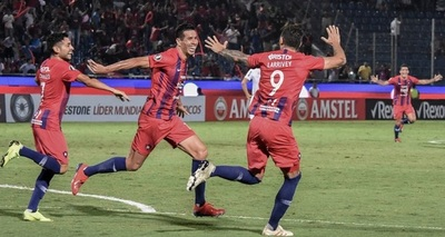 Cerro registra la mayor goleada ante equipos brasileños