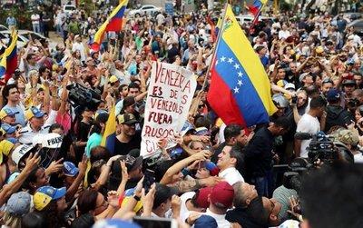 Rechazan injerencia de tropas rusas y cubanas en Venezuela