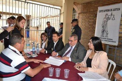 Ministros verificaron situación procesal de internos